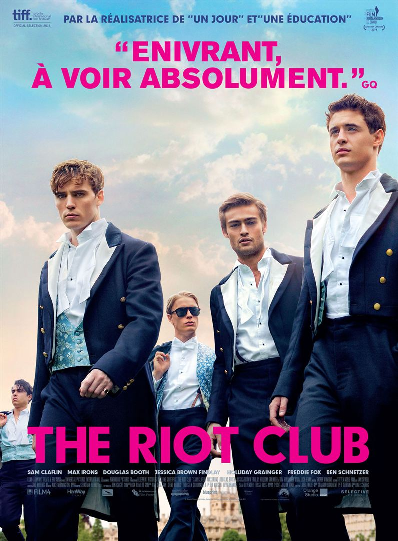 Movie Poster Riot Club